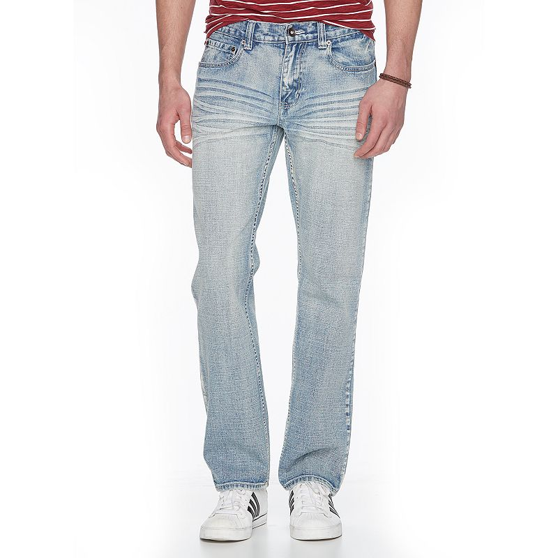 Men's Urban Pipeline® Premium Light Wash Relaxed Straight Jeans