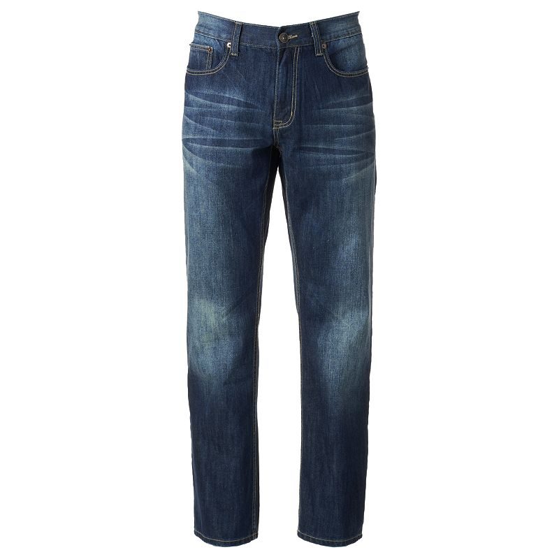 Men's Urban Pipeline® Premium Dark Wash Relaxed Straight Jeans