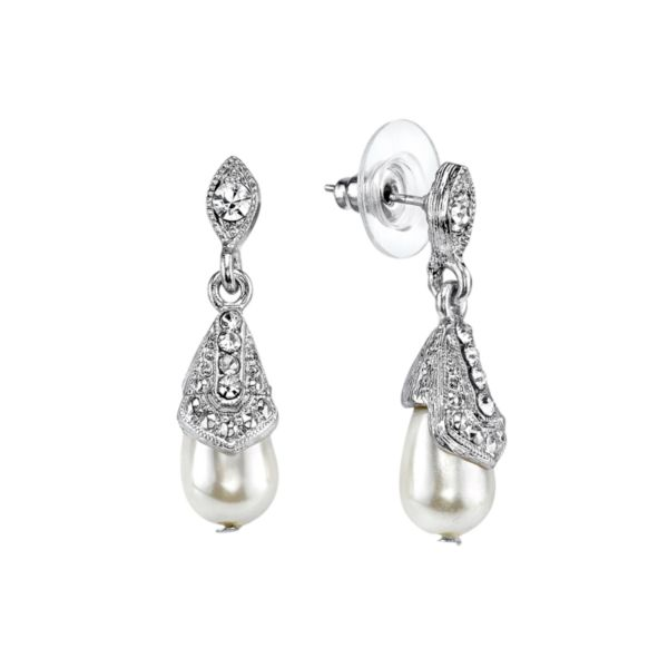 Downton Abbey Teardrop Earrings