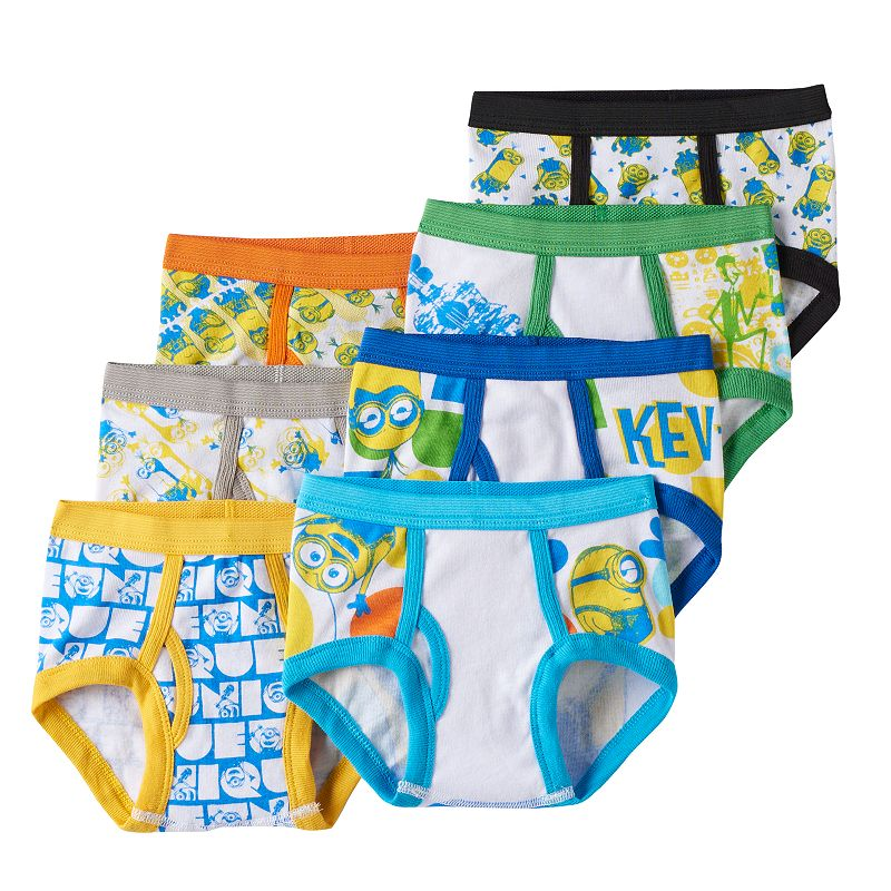 Despicable Me 2 Minion 7-pk. Briefs - Toddler