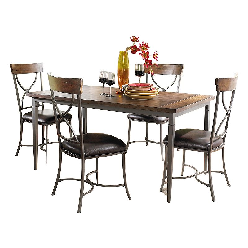 Hillsdale furniture cameron 5 pc dining set - Sturdy dining room chairs ...
