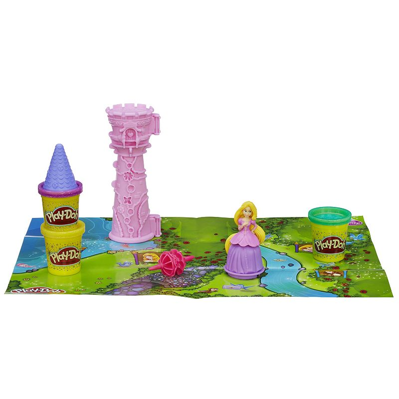 Disney Princess Play-Doh Rapunzel's Garden Tower Set by Hasbro