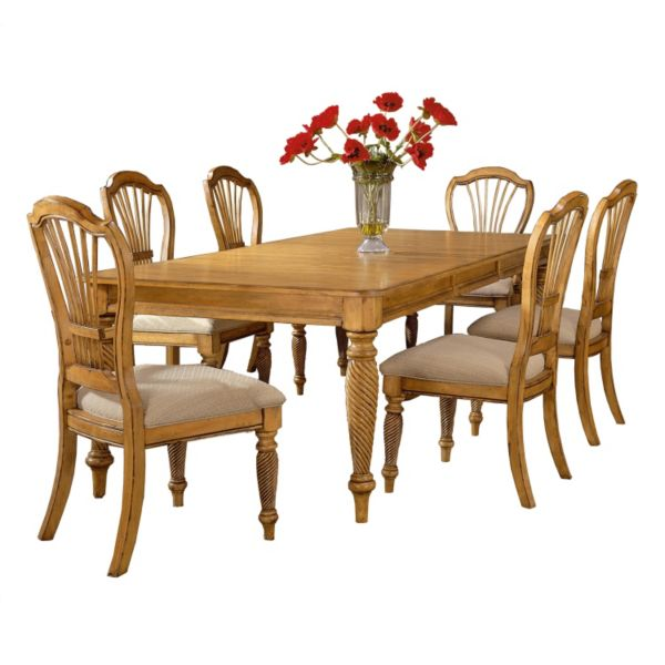 Hillsdale Furniture 7-piece Wilshire Dining Chairs and Table Set