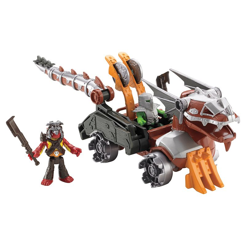 Imaginext Serpent Battle Wagon Gift Set by Fisher-Price