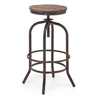 Zuo Era Peaks Adjustable Bar Stool