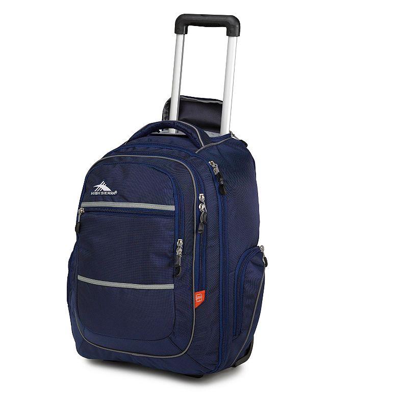 High Sierra Rev 17-in. Wheeled Laptop Backpack