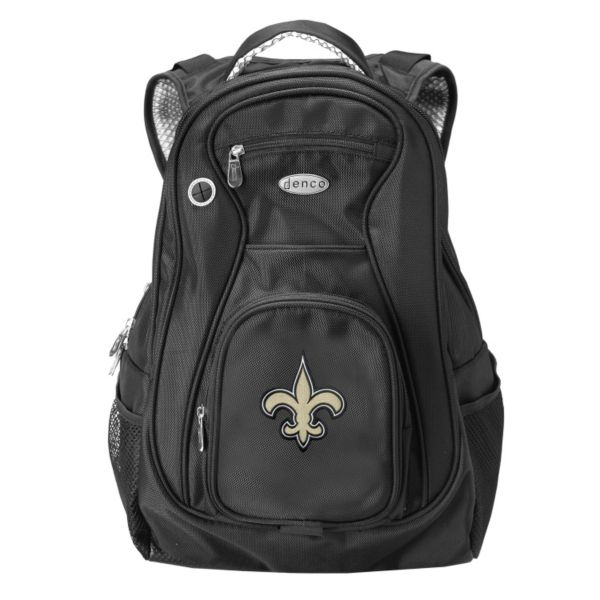 New Orleans Saints 17 1/2-in. Laptop Backpack