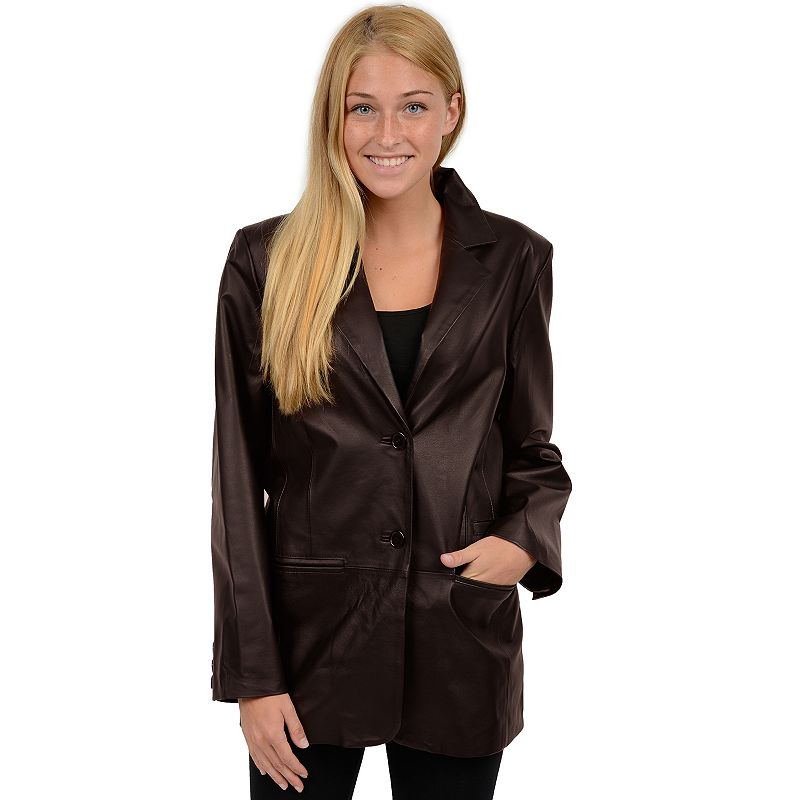 Women's Excelled Nappa Leather Jacket