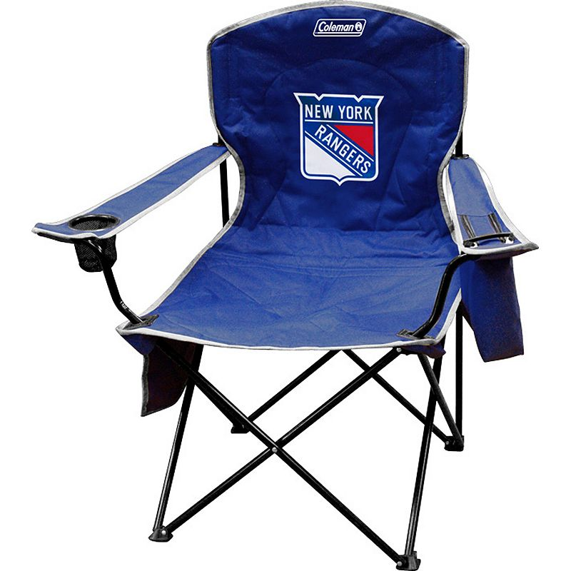 Coleman New York Rangers Cooler Quad Chair