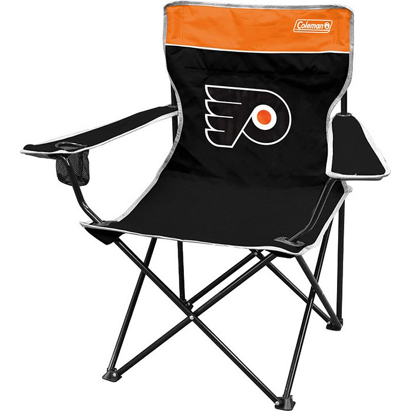 Coleman Philadelphia Flyers Quad Chair