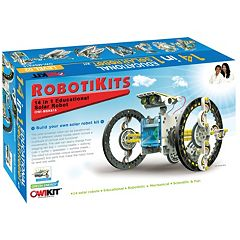 14-in-1 Educational Solar Robot Kit by