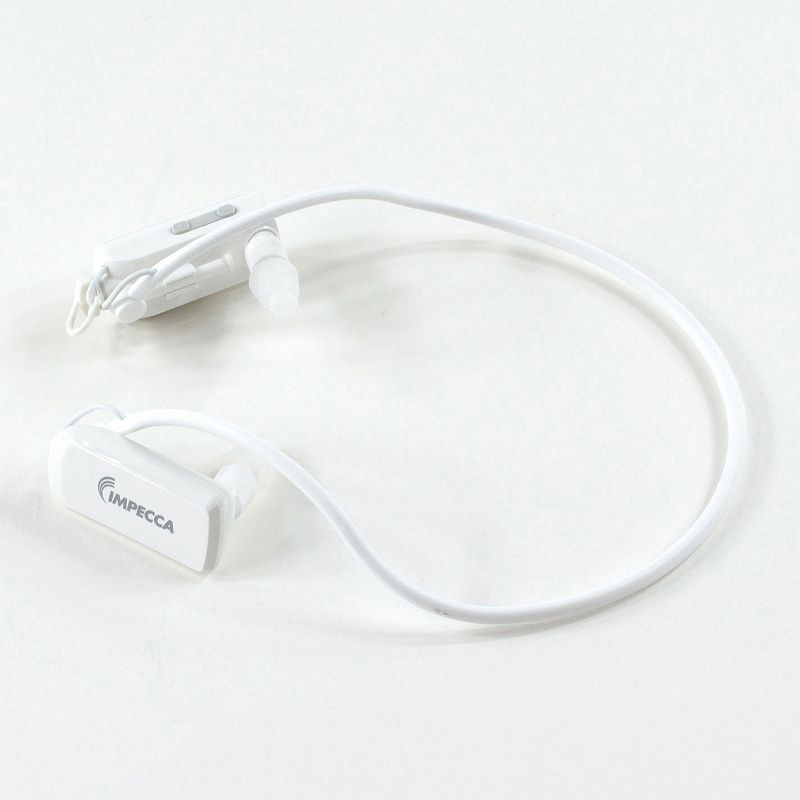Impecca USA Waterproof Headphones with 8GB MP3 Player