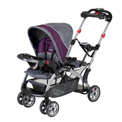 Baby Trend Sit N Stand Double Stroller Pistachio: Baby Trend Sit 'N Stand Ultra Stroller