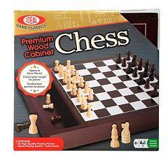 Ideal Premium Wood Chess Set