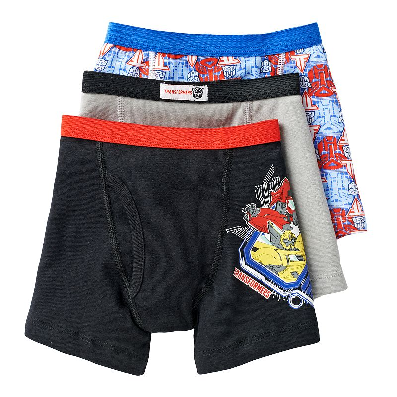 Boys 4-8 Transformers 3-pk. Boxer Briefs