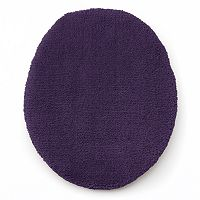 Chaps Home Lawton Microfiber Solid Toilet Lid Cover