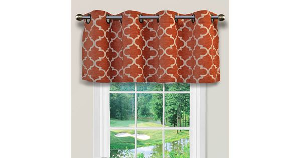 spencer club lattice window valance 54 39 39 x 16 39 39. Black Bedroom Furniture Sets. Home Design Ideas