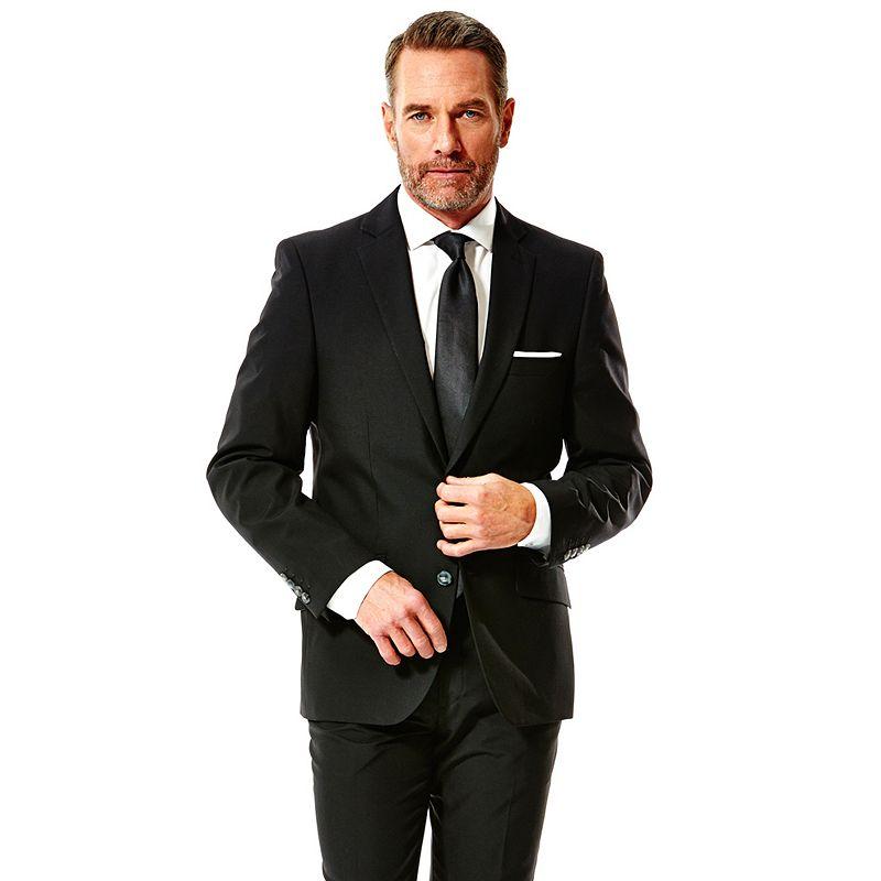 Men's Haggar® Slim-Fit Black Suit Jacket