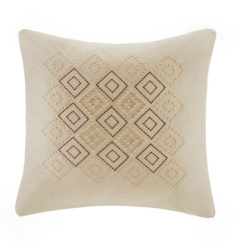 Castle Hill Geometric 18'' x 18'' Throw Pillow