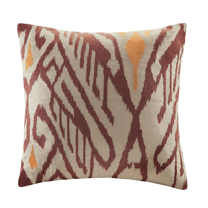 Castle Hill Abstract Throw 18'' x 18'' Pillow