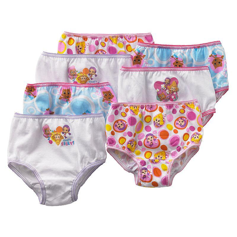 Bubble Guppies 7-pk. Panties - Toddler