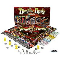 Late for the Sky Zombie-Opoly Board Game