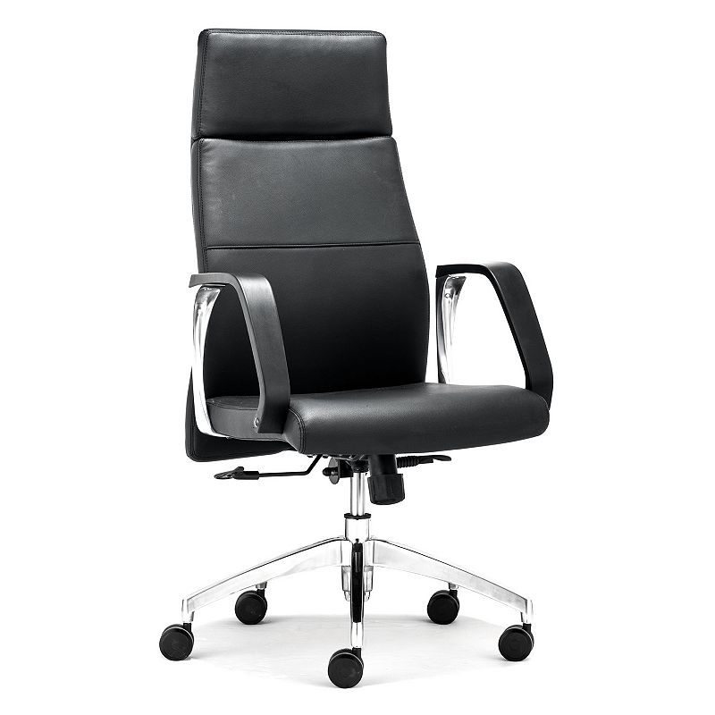 Zuo Modern Conductor High-Back Desk Chair