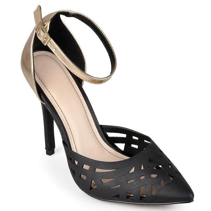 Journee Collection Spiral Cutout High Heels - Women