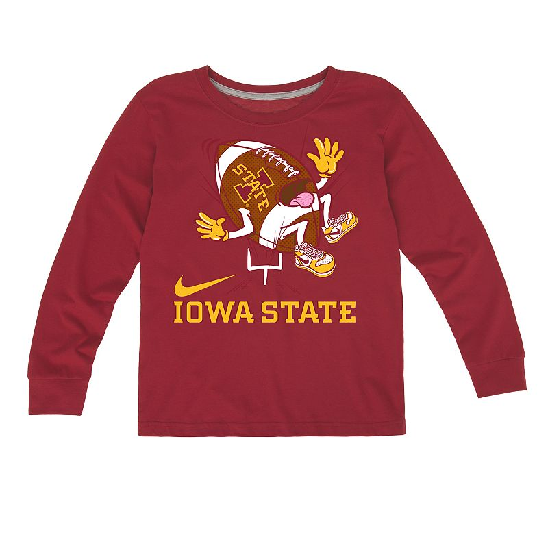 Toddler Nike Iowa State Cyclones Football Tee