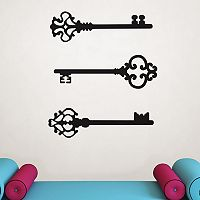 WallPops Keys to my Heart Wall Decals