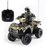 KidzTech Remote Control 1:6 Kawasaki Brute Force 750 ATV