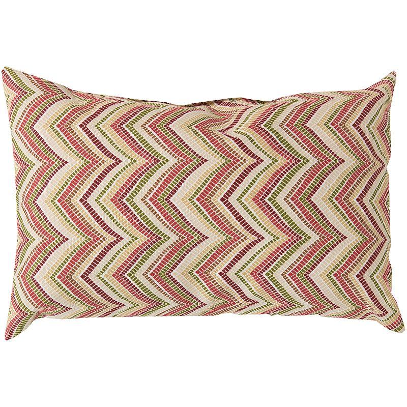 Artisan Weaver Boxborough Outdoor Decorative Pillow - 13'' x 20''