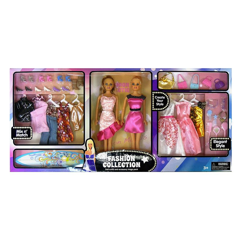 Fashion Collection Doll Set