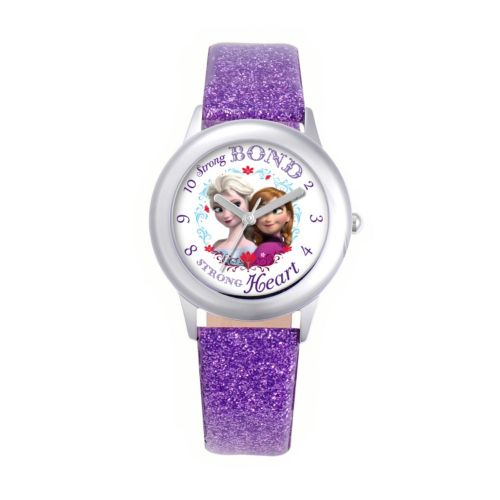 Disney Frozen Watch - Juniors' Anna and Elsa Leather