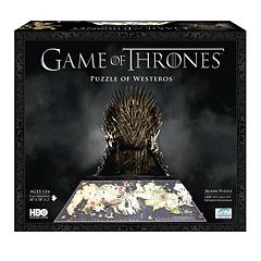 4D Cityscape Game of Thrones: A Guide to Westeros Time Puzzle by