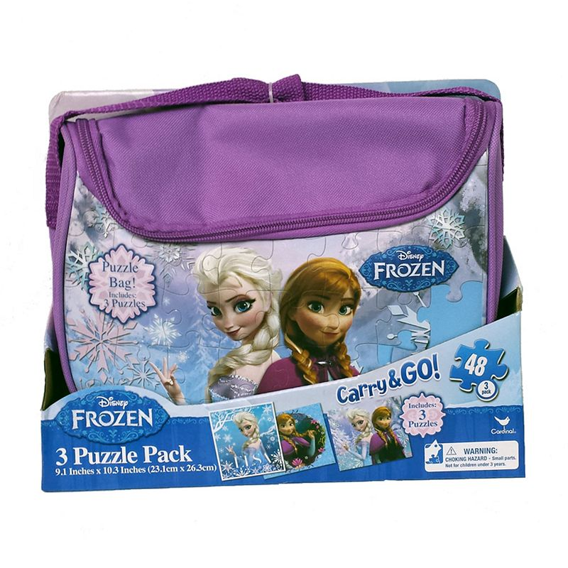 Disney Frozen Anna and Elsa Puzzle Bag Pack
