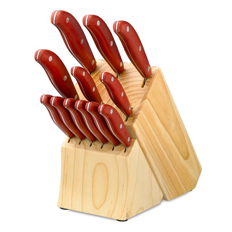 Hampton Forge Magna Red 13-pc. Cutlery Set