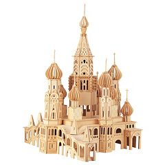 Puzzled St. Petersburg Church Wood Puzzle by