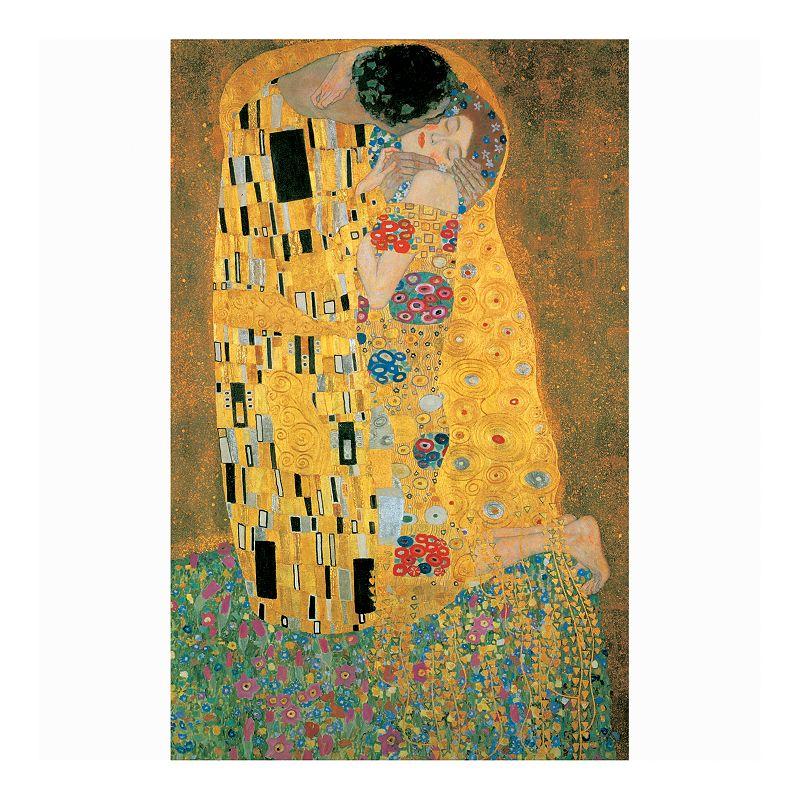 Klimt The Kiss 1000-pc. Metallic Jigsaw Puzzle