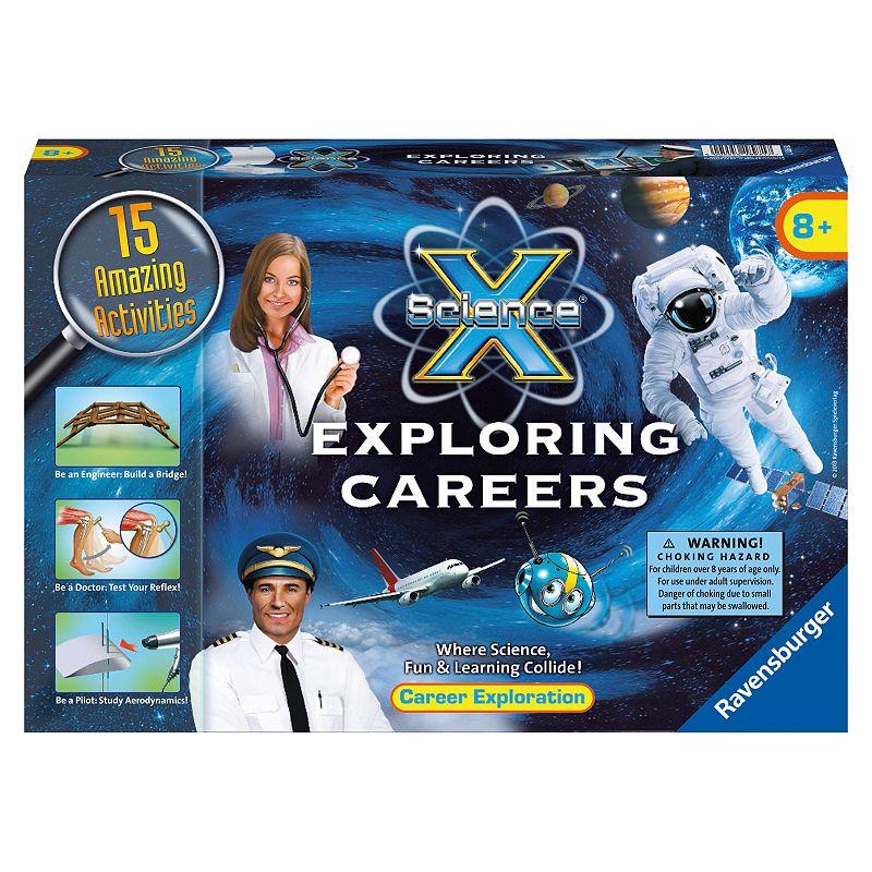 Ravensburger Science X Midi Exploring Careers Kit