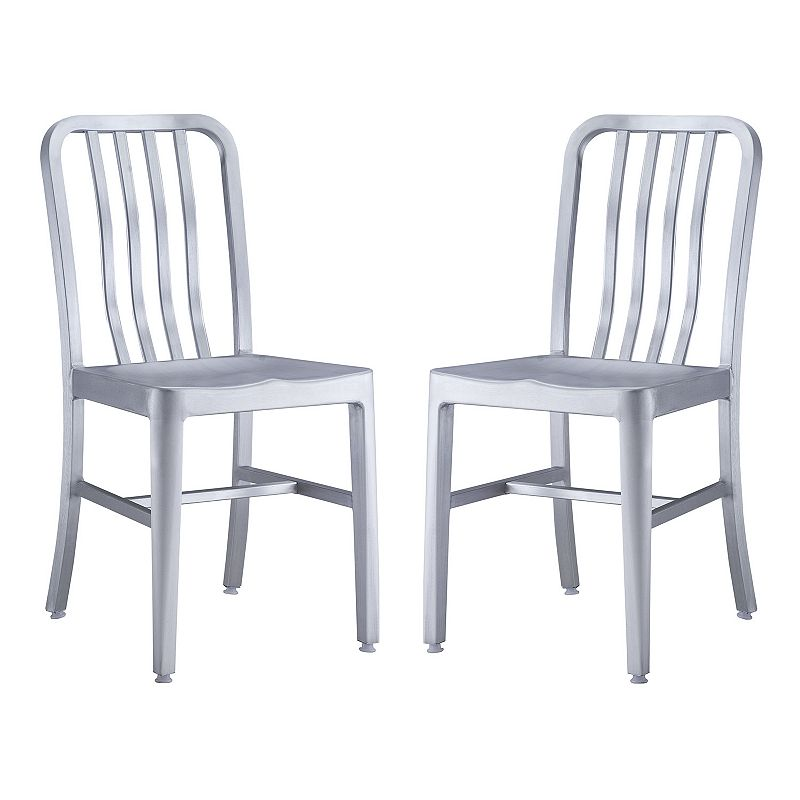 Zuo Vive Gastro 2-pc. Dining Chair Set - Outdoor