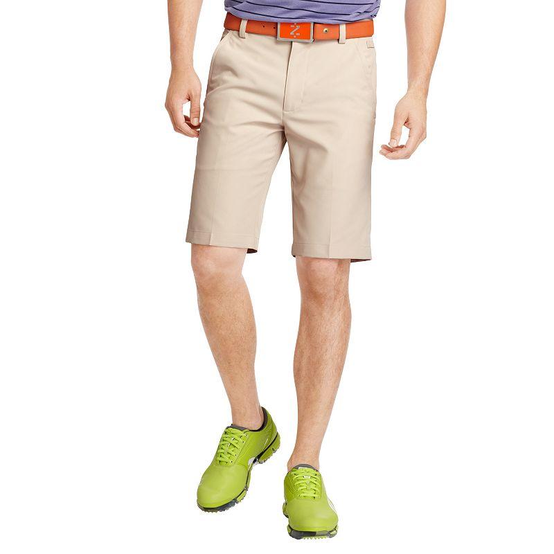 Big & Tall IZOD Microfiber Flat-Front Golf Shorts