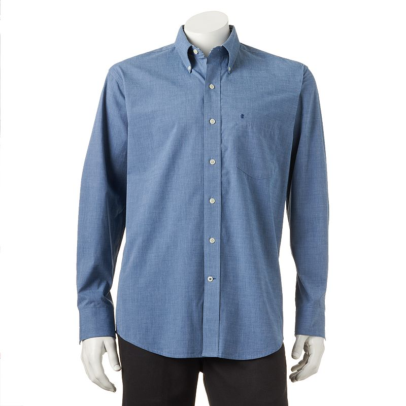 Izod poplin button down shirt kohl 39 s for Izod button down shirts