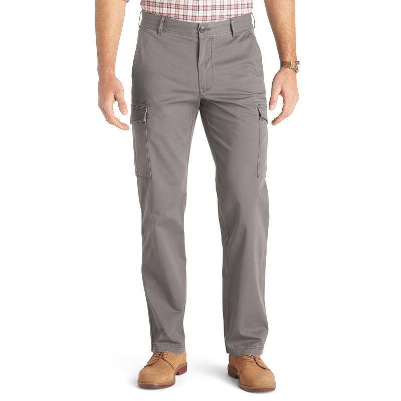 Men's IZOD Straight-Leg Stretch Cargo Pants