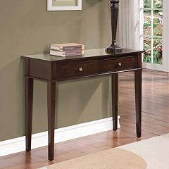Simpli Home Carlton Console Table by