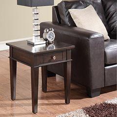 Simpli Home Carlton End Table by