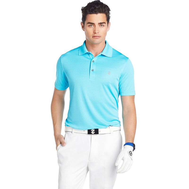 Men's IZOD Solid Grid Performance Golf Polo