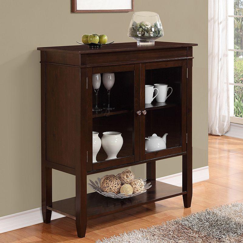 Simpli Home Carlton Storage Cabinet