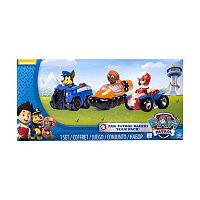 Paw Patrol Chase, Zuma & Ryder Racers Team Pack by Spin Master