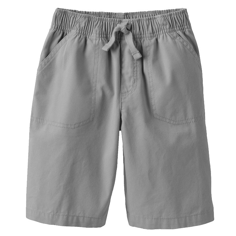 Boys 4-7x Jumping Beans® Solid Canvas Shorts